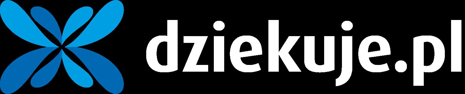 Logo dziekuje.pl transparetne
